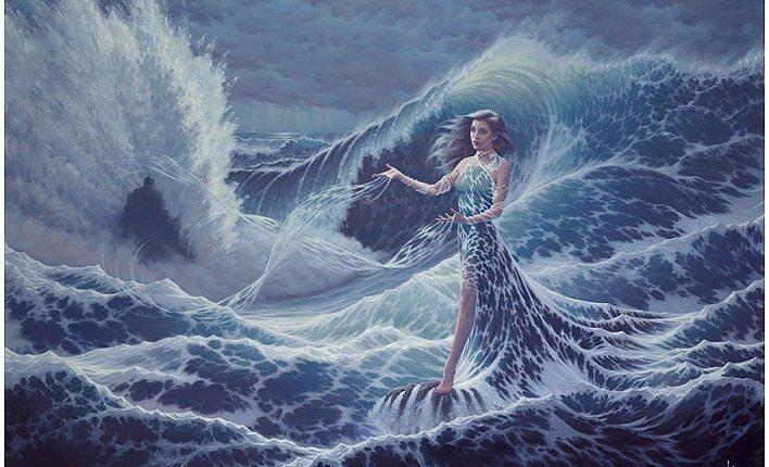 The Goddess Yemanja