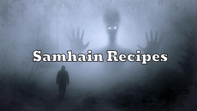 Samhain recipes