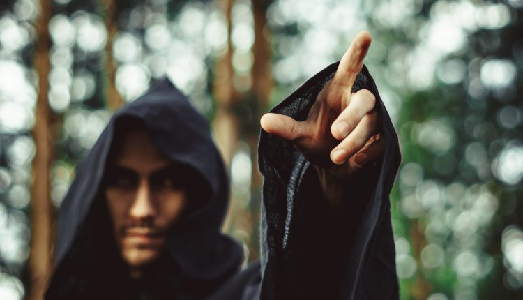 The male witch – yes it's a 'thing'