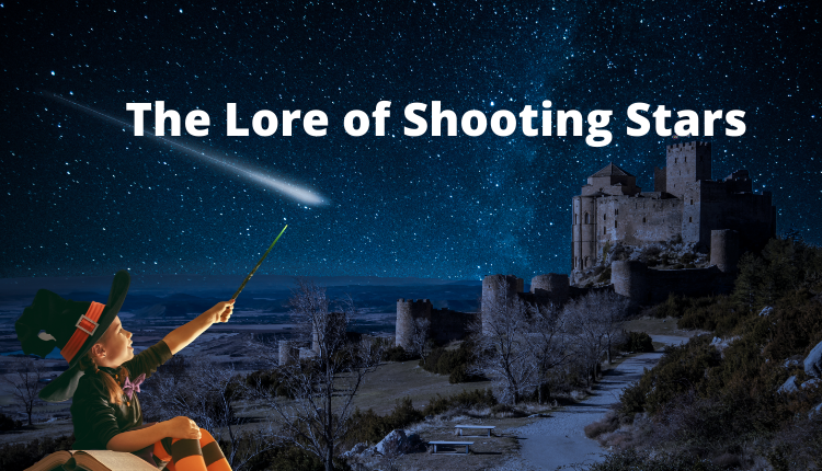The worldwide lore of the shooting star