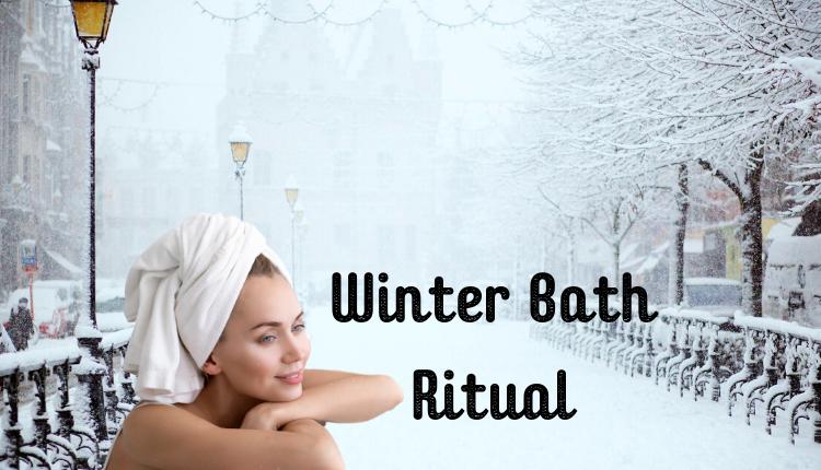Winter Bath Ritual For Yuletide